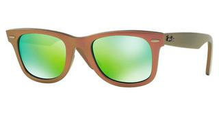 Ray-Ban RB2140 611019 GREY MIRROR GREENMETALLIC PINK