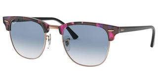 Ray-Ban RB3016 12573F CLEAR GRADIENT BLUESPOTTED GREY/VIOLET