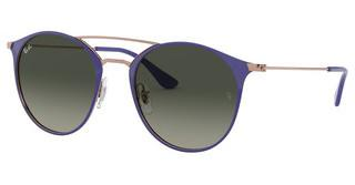 Ray-Ban RB3546 9073A5 GREY GRADIENT DARK GREYCOPPER ON TOP VIOLET