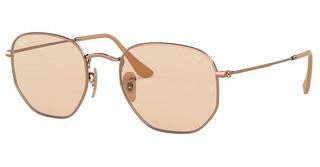 Ray-Ban RB3548N 9131S0 EVOLVE LIGHT BROWNCOPPER