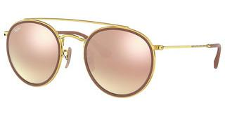 Ray-Ban RB3647N 001/7O BROWN GRADIENT MIRROR PINKARISTA