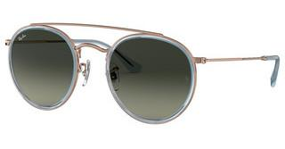 Ray-Ban RB3647N 906771 LIGHT GREY GRADIENT DARK GREYCOPPER