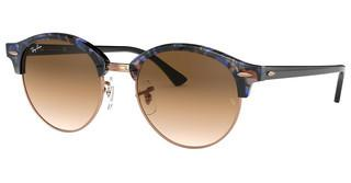Ray-Ban RB4246 125651 CLEAR GRADIENT BROWNSPOTTED BROWN/BLUE