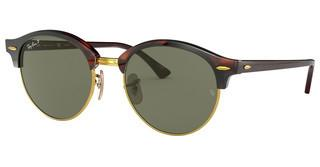 Ray-Ban RB4246 990/58 POLAR GREENRED HAVANA