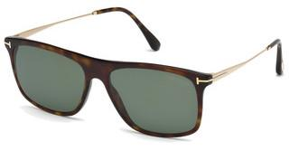 Tom Ford FT0588 52R grün polarieisrendhavanna dunkel