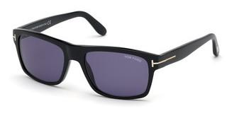Tom Ford FT0678 01V blauschwarz glanz