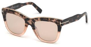 Tom Ford FT0685 56G braun verspiegelthavanna