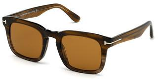 Tom Ford FT0751 55E braunhavanna bunt