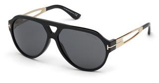 Tom Ford FT0778 01A grauschwarz glanz