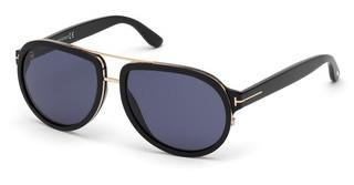 Tom Ford FT0779 01V blauschwarz glanz