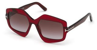 Tom Ford FT0789 69T bordeaux verlaufendbordeaux glanz