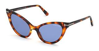 Tom Ford FT0820 55V blauhavanna bunt
