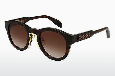 Ophthalmics Alexander McQueen AM0046S 004 - Brown, Havanna