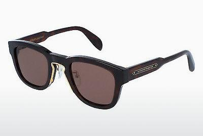 Ophthalmics Alexander McQueen AM0047S 004 - Brown, Havanna