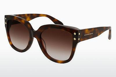 Ophthalmics Alexander McQueen AM0051S 004 - Brown, Havanna
