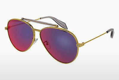 Ophthalmics Alexander McQueen AM0057S 004 - Gold