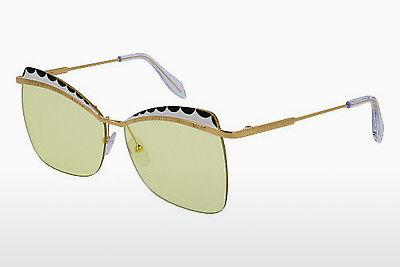 Ophthalmics Alexander McQueen AM0059S 005 - Gold