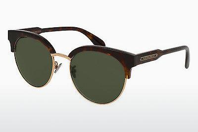 Ophthalmics Alexander McQueen AM0066SK 002 - Brown, Havanna