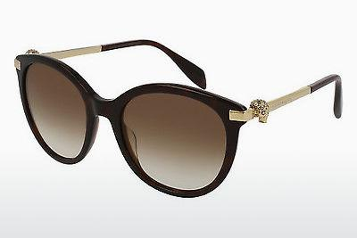 Ophthalmics Alexander McQueen AM0083S 002 - Brown, Havanna