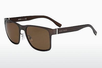 Ophthalmics Boss BOSS 0748/F/S K9C/SP - Brown, Grey, Patterned