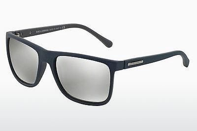 Ophthalmics Dolce & Gabbana OVER-MOLDED RUBEBR (DG6086 29346G) - Blue