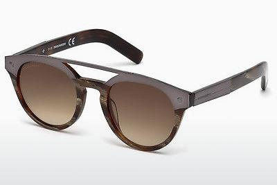 Ophthalmics Dsquared DQ0235 62F - Brown, Havanna