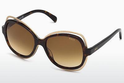 Ophthalmics Emilio Pucci EP0056 52F - Brown, Havanna