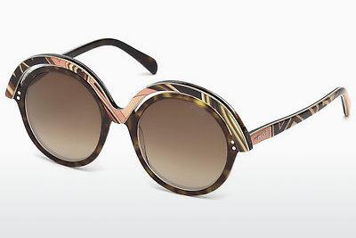 Ophthalmics Emilio Pucci EP0065 56F - Brown, Havanna