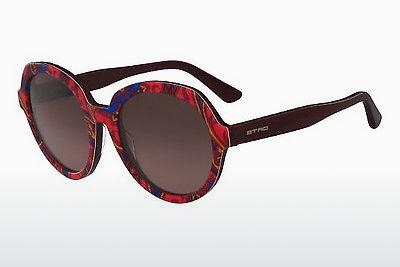 Ophthalmics Etro ET646S 607 - Red, Havanna, Multi-coloured