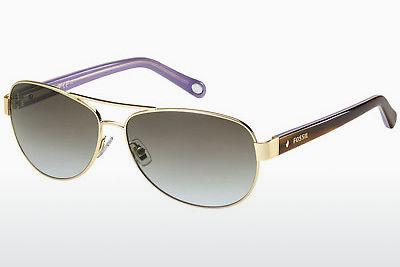 Ophthalmics Fossil FOS 2004/S H0R/LW - Gold, Brown, Havanna, Purple