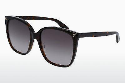 Ophthalmics Gucci GG0022S 003 - Brown, Havanna