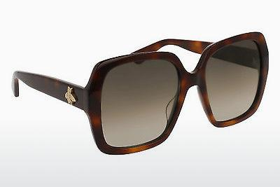 Ophthalmics Gucci GG0096S 002 - Brown, Havanna