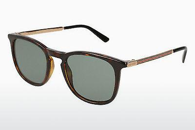 Ophthalmics Gucci GG0136S 002 - Brown, Havanna