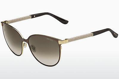 Ophthalmics Jimmy Choo POSIE/S F8G/HA - Brown, Gold