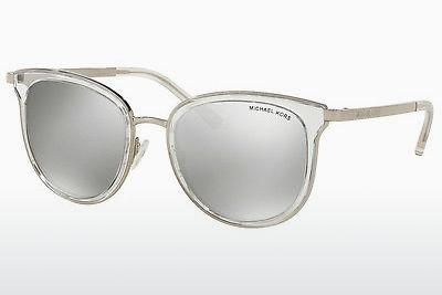 Ophthalmics Michael Kors ADRIANNA I (MK1010 11026G) - Silver, Transparent, White