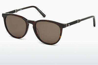 Ophthalmics Mont Blanc MB588S 52E - Brown, Havanna