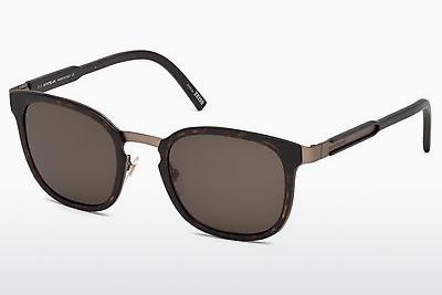 Ophthalmics Mont Blanc MB603S 52E - Brown, Havanna