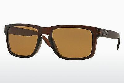 Ophthalmics Oakley HOLBROOK (OO9102 910203) - Brown