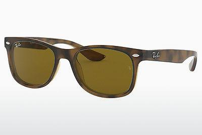 Ophthalmics Ray-Ban Junior RJ9052S 152/3 - Brown, Havanna