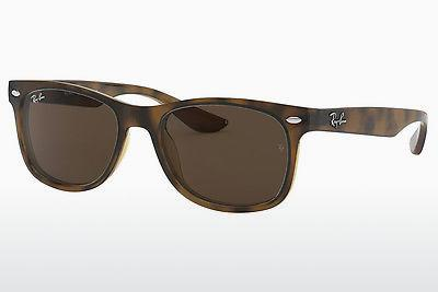 Ophthalmics Ray-Ban Junior RJ9052S 152/73 - Brown, Havanna
