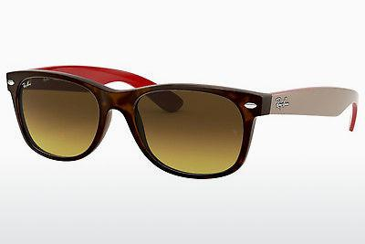 Ophthalmics Ray-Ban NEW WAYFARER (RB2132 618185) - Brown, Havanna
