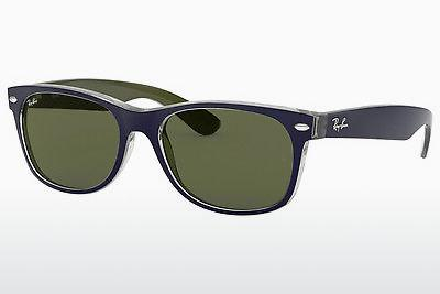 Ophthalmics Ray-Ban NEW WAYFARER (RB2132 6188) - Blue