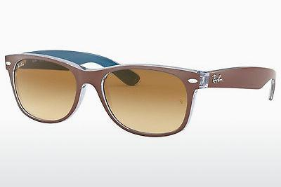 Ophthalmics Ray-Ban NEW WAYFARER (RB2132 618985) - Brown