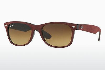 Ophthalmics Ray-Ban NEW WAYFARER (RB2132 624085) - Black, Red