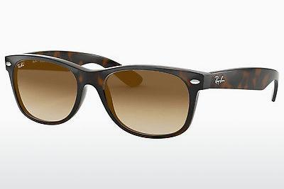 Ophthalmics Ray-Ban NEW WAYFARER (RB2132 710/51) - Brown, Havanna