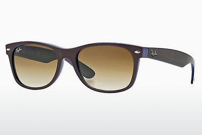 Ophthalmics Ray-Ban NEW WAYFARER (RB2132 874/51) - Brown, Blue