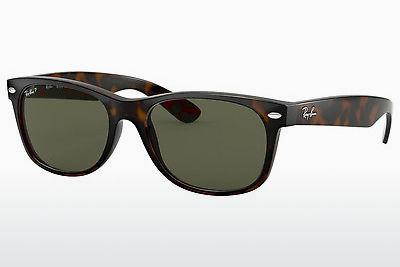 Ophthalmics Ray-Ban NEW WAYFARER (RB2132 902/58) - Brown, Havanna