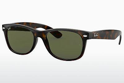 Ophthalmics Ray-Ban NEW WAYFARER (RB2132 902) - Brown, Havanna