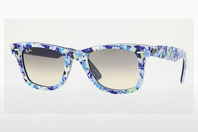 Ophthalmics Ray-Ban WAYFARER (RB2140 102132) - Blue, Green, Flowers