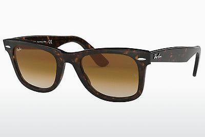 Ophthalmics Ray-Ban WAYFARER (RB2140 902/51) - Brown, Havanna